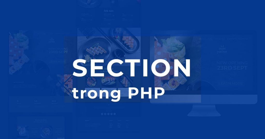 Section trong PHP