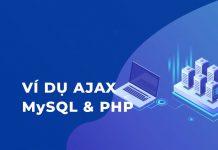 Ví dụ PHP và AJAX