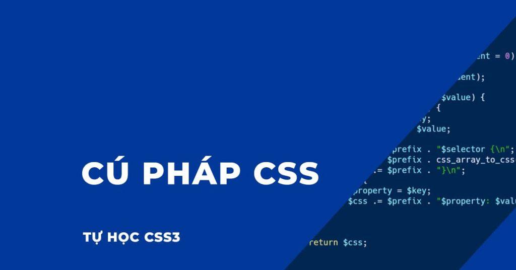 Cú pháp CSS cơ bản