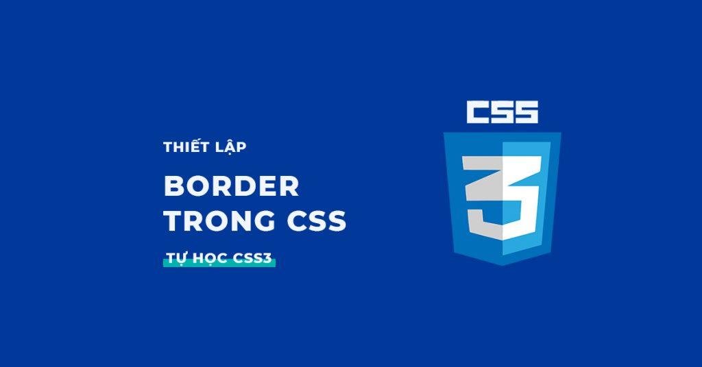 Border trong CSS